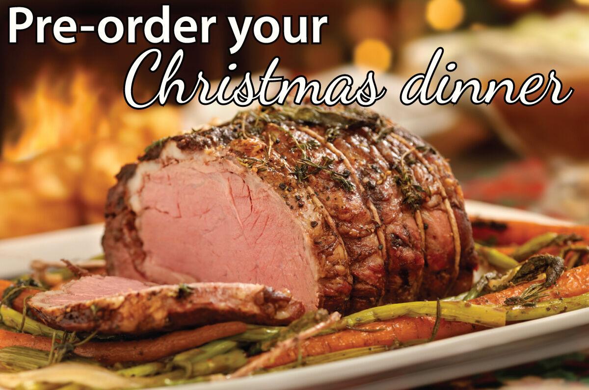 Pre-order Christmas Dinner